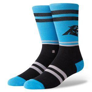 STANCE NFL Carolina Panthers Logo Socks Sz L 9-12